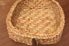 Twill plait double-walled basket - from £65